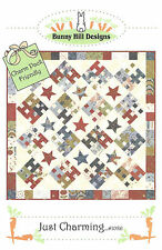 Quilt Pattern ~ JUST CHARMING ~ by Bunny Hill Designs - Charm Pack Friendly