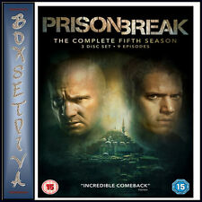 PRISON BREAK - COMPLETE SEASON 5- FIFTH SEASON  *BRAND NEW DVD **