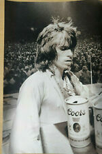 KEITH RICHARDS / ROLLING STONES - Magazine Picture / Poster - Coors Beer - RARE
