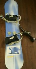 Sweet Rossignol Proline Jr 126 Snowboard With 5150 Bindings