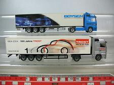N87-0, 5# Wiking h0 Mercedes-Benz MB camión/remolcarse (2 St): consuelo 100 años Boysen