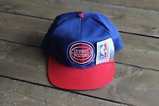 NWT Vintage Detroit Pistons Snapback Hat