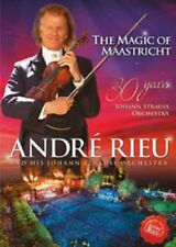 ANDRE RIEU THE MAGIC OF MAASTRICHT DVD - PRE-SALE 24-NOV-2017