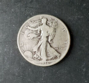 (1) Walking Liberty Half Dollar - 1936-P - 90% Silver - Fine