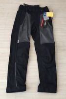 Olympia Renegade Moto Full Zip Black Mesh Tech Motorcycle Pants Mens Size 32 New