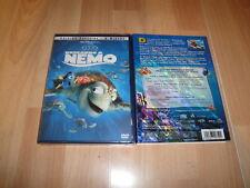 BUSCANDO A NEMO EDICION ESPECIAL 2 DISCOS DE WALT DISNEY EN DVD NUEVO PRECINTADO