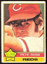 1976 TOPPS OPC O PEE CHEE BASEBALL #240 PETE ROSE VG CINCINNATI REDS CARD