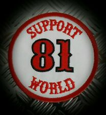 Hells Angels,  Support 81,  Patch