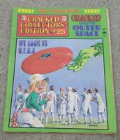 Cracked Collector's Edition #23 May 1978 Outer Space Issue UFO comic book OLD