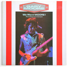 GARY MOORE We want moore hard rock french france 1984 10 records virgin 70287 LP