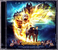 GOOSEBUMPS Danny Elfman OST Soundtrack CD Gänsehaut Jack Black Rob Letterman NEU