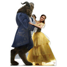 BELLE AND BEAST Beauty and the Beast Lifesize CARDBOARD CUTOUT Standup Standee