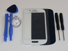 SAMSUNG GALAXY S3 MINI i8190 FRONT GLAS TOUCH SCHEIBE TOUCHSCREEN DISPLAY WEIß