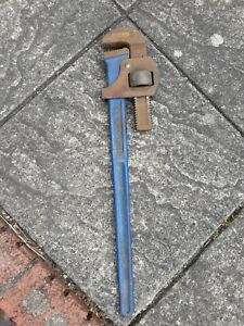 """VINTAGE RECORD 24"""" STILSONS PIPE WRENCH"""