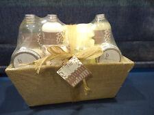 SPA SANTUARY BEAUTY Bath Gift Set NEW 9pce In Basket SEALED #6177