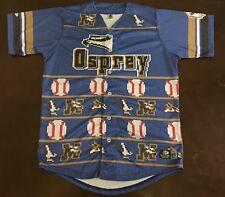 Rare MiLB Missoula Osprey Not So Ugly Christmas Baseball Jersey
