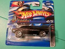 SHORT CARD /'67 Camaro #149 *Green 2009 Hot Wheels JC10