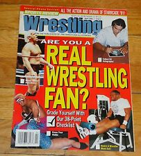 1992 Sports Review Wrestling Magazine Ric Flair Sting Ron Simmons WWF NWA WWE