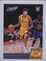 2016-17 Prestige Los Angeles Lakers Basketball Card #152 Brandon Ingram RC