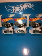 LOT OF(3) BONE SHAKER HOT WHEELS,GRAY(RE-COLOR),P CASE,NEW FOR 2021,HW ROD SQUAD