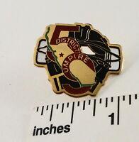 Little League Baseball Pin(s):(1) District 59 - UMPIRE - CA