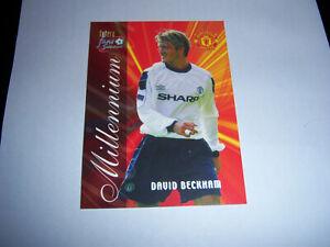 Football Card 'David Beckham' Manchester Utd 'Millennium'