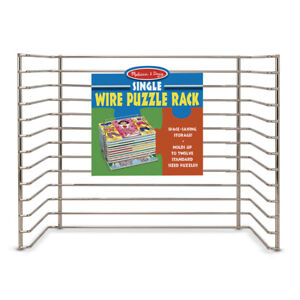 Melissa & Doug Wire Puzzle-Storage Rack