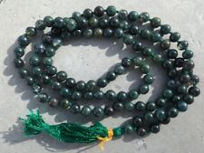 Bloodstone gemstone japa mala beads 108 beads ~ meditation, prayer