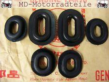 Honda CB 750 Four K0 - K6 Haltegummi Set Seitendeckel Grommet Set Side Covers