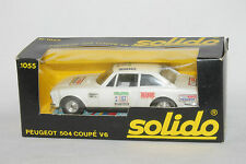 1970's Solido Peugeot 504 Coupe V6, with Box