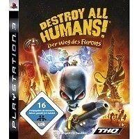 Sony PS3 Playstation 3 Spiel * Destroy all Humans Der Weg des Furons * NEU * NEW