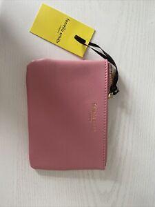 Fenella Smith Mini Pouch/Bag Purse Pink Vegan Leather BNWT