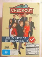 The Checkout : Season 1-2 (4 DVD Set) Region 4, LIKE NEW*, Free Next Day Post