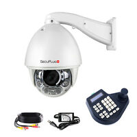 Auto Tracking 30x Zoom 1200TVL PTZ High Speed CCTV Security Camera+ 3D Joystick