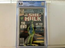 Savage She-Hulk #25--CGC 4.0--Final issue of the series! 52 Pages!