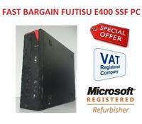 FAST Cheap Fujitsu Esprimo E400 SFF Desktop PC Window 7 or Window 10 Warranty