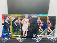 2019-20 PANINI PRIZM OPTIC JOE HARRIS GOLD SILVER HOLO RWB JERSEY SP LOT NETS