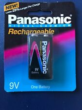 PANASONIC RECHARGEABLE NI-CAD 9 VOLT BATTERY
