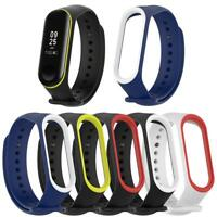 Silicone Wristband Bracelet Watch Strap Replacement for Xiaomi Miband 3 4