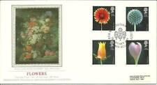 GB 1987 20TH Jan PPS flores de seda número 29 FDC