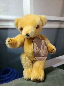 Vintage Bully bear Minor in Mohair House of Nisbet #2560 of 5000 with tag