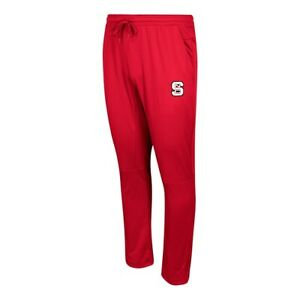 NC State Wolfpack NCAA Adidas Men's 2017 Sideline Red Warm-Up Pants