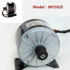2750RPM 250W 24V Electric Brush MY1025 Motor for Scooter Bike E-kart E200 E300