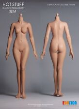 Edation Hot Stuff 1/6 Scale White Tone Female Slim Body Ball Joint EDA-S02