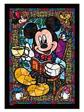 Tenyo 266 Piece Jigsaw Puzzle Disney Mickey Mouse Art Stained Series