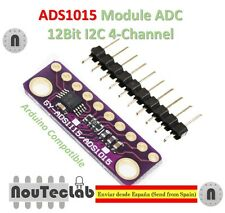 I2C ADS1015 12 Bit ADC 4 channel Module Programmable Gain Amplifier 2.0V to 5.5V