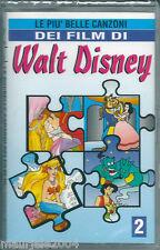 Le più belle canzoni dei film Walt Disney vol.2 (1997) Musicassetta NUOVA SIGILL