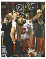 BEN BOULWARE - CLEMSON TIGERS - 2017 NATIONAL CHAMPIONSHIP 8x10 COLOR PHOTO g