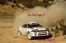 Juha Kankkunen Toyota Celica Turbo 4WD Acropolis Rally 1993 Photograph 1