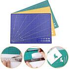 A5 Grid Line Self Healing Cutting Mat Craft Card Fabric Leather Paper Bo a1J .